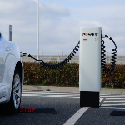 ładowarka samochodu elektrycznego wolnostojąca